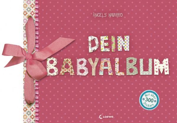 Dein Babyalbum (Mädchen - rosa)