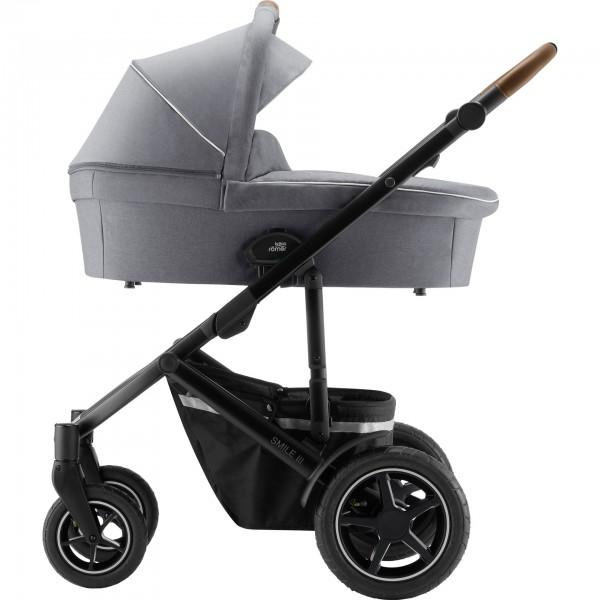 Britax Römer Kinderwagen SMILE III – Comfort Set exclusiv inkl. Wanne, Sportaufsatz und Babyschale