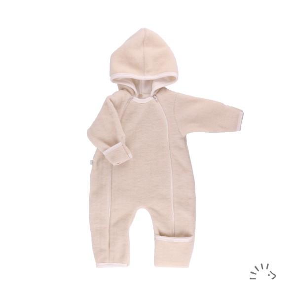 Baby Overall Ecru