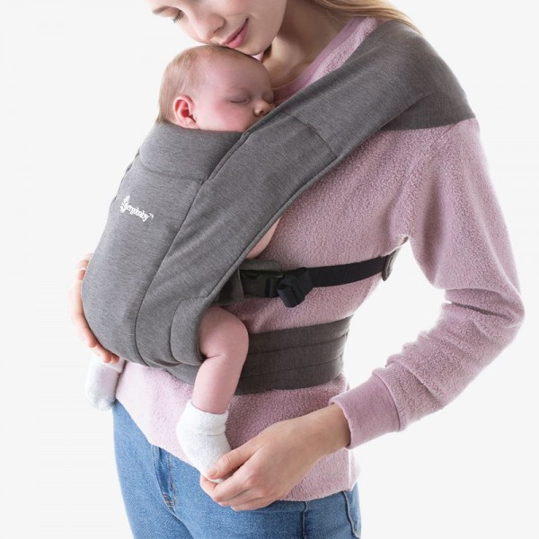 Ergobaby Embrace Neugeborenentrage Heather Grey