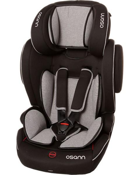 Auto-Kindersitz Flux Isofix, Grey Melange Altersempfehlung: 9 Monate bis 12 Jahre