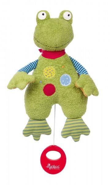Spieluhr Flecken Frog